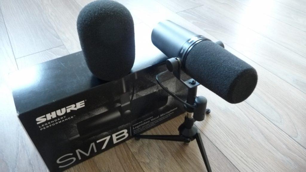 Avis Shure SM7B